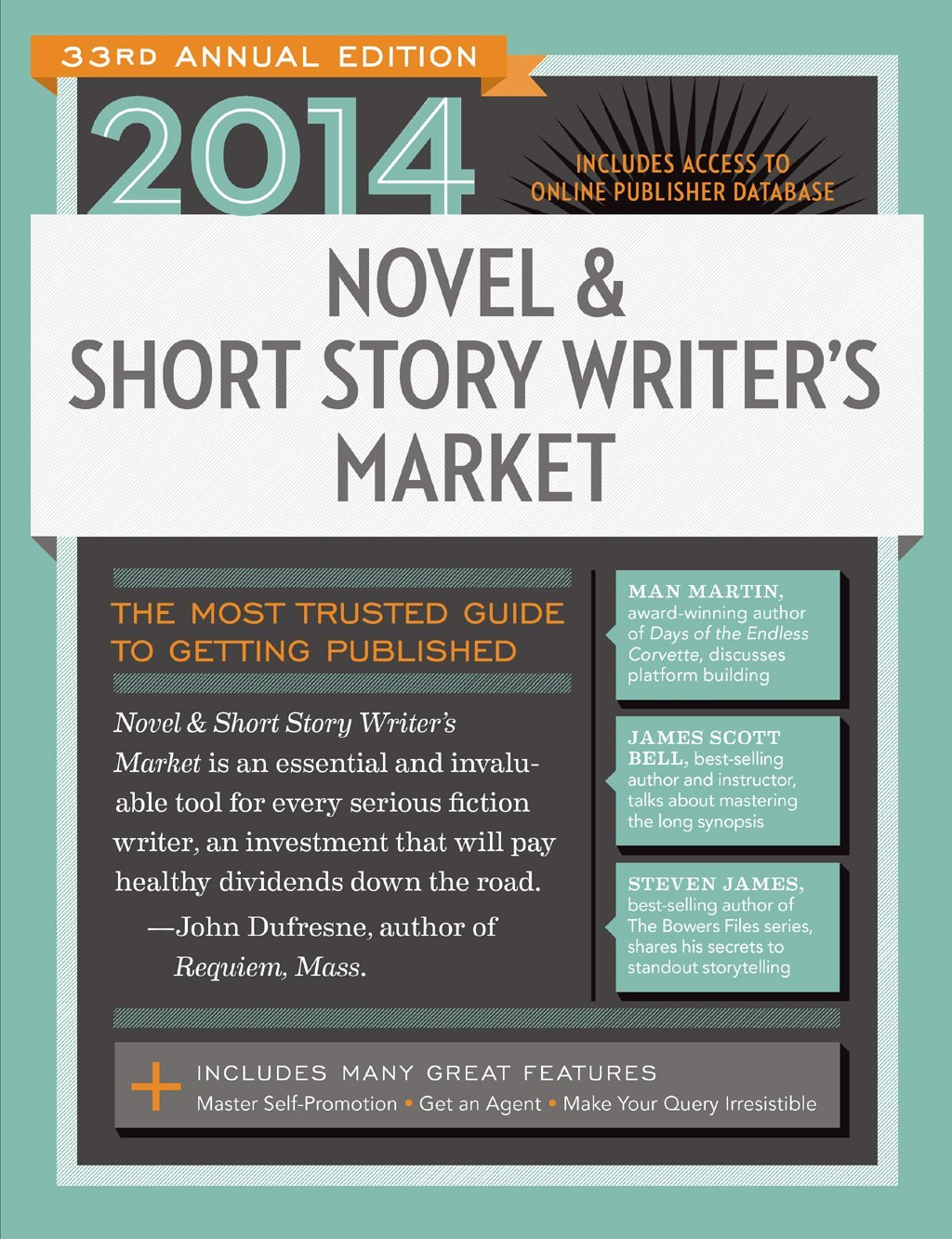 2014 Novel & Short Story Writer