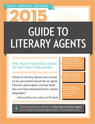 2015 GUIDE TO LITERARY AGENTS, Elizabeth Sims contributor