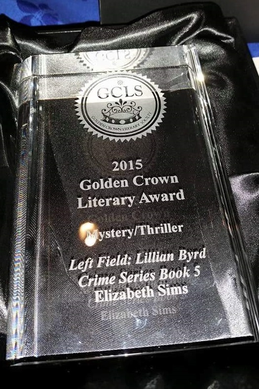 2015 Golden Crown Literary Award, Elizabeth Sims