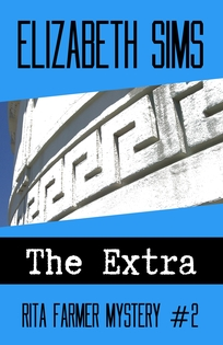 "The Extra by Elizabeth Sims ""Appealing characters, amusing subplots and a steamy L.A. setting!"" - Publishers Weekly"